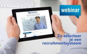 Gratis Lunchwebinar Zo selecteer je een recruitmentsysteem