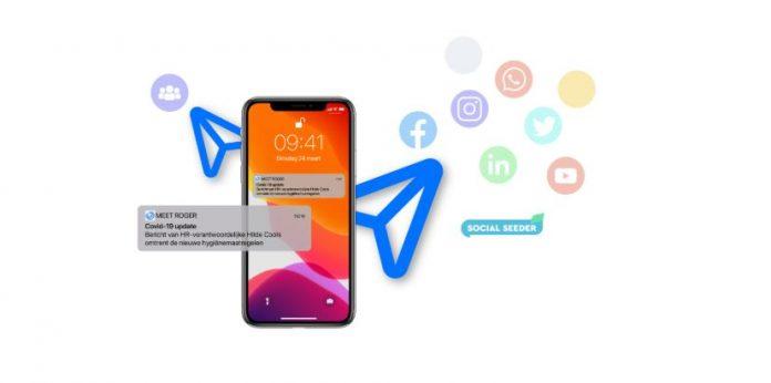 Social Seeder en Meet Roger verbinden interne en externe communicatie: