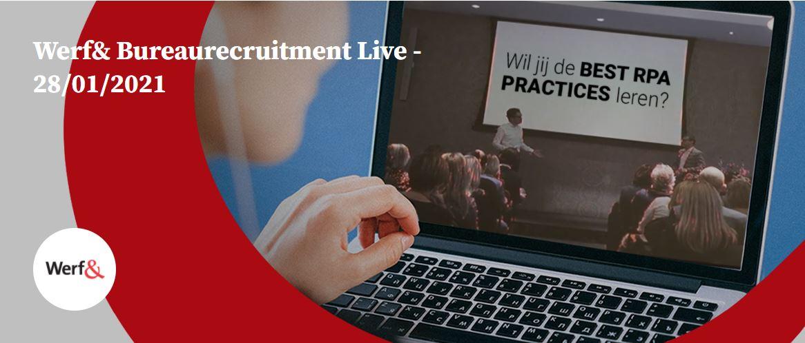 Werf& Bureaurecruitment Live