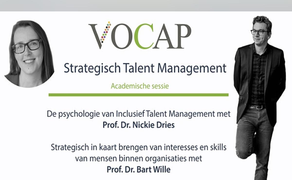 VOCAP Themareeks Strategisch talent Management