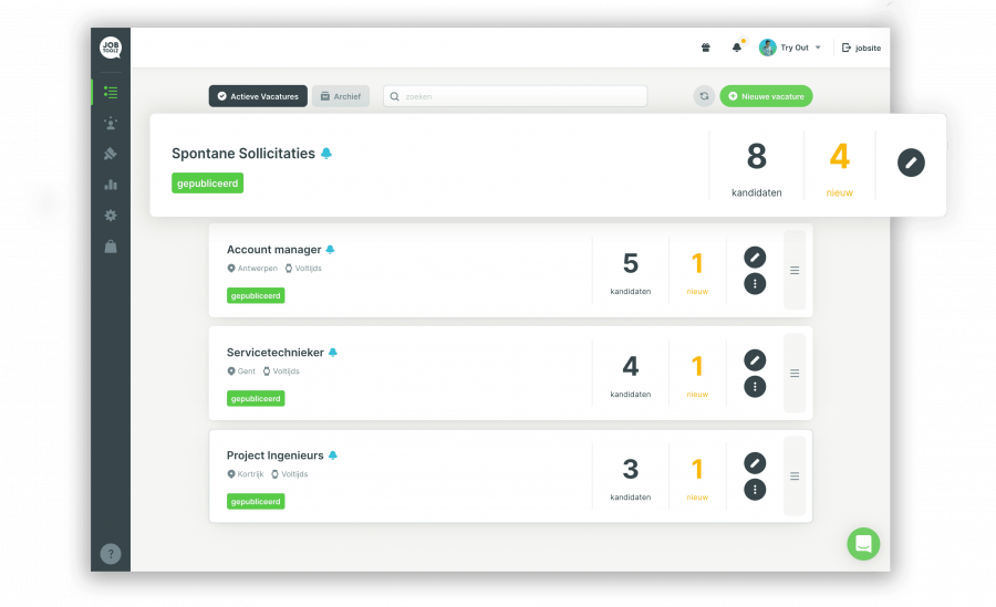 All-in-one recruitment platform